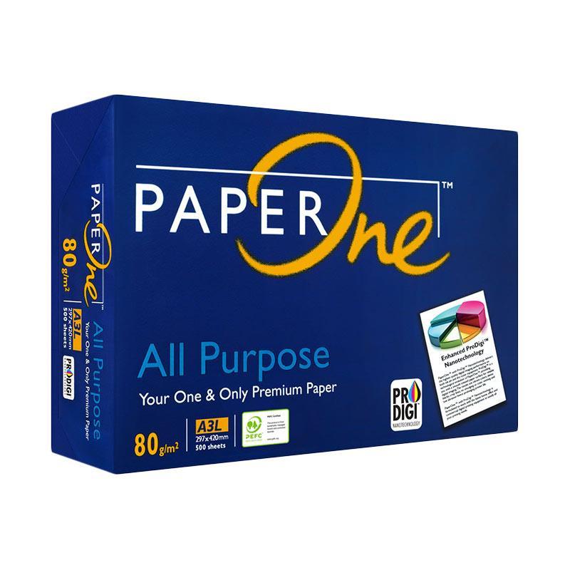 PaperOne A3 Foto Copy Kertas [80 g/m2]