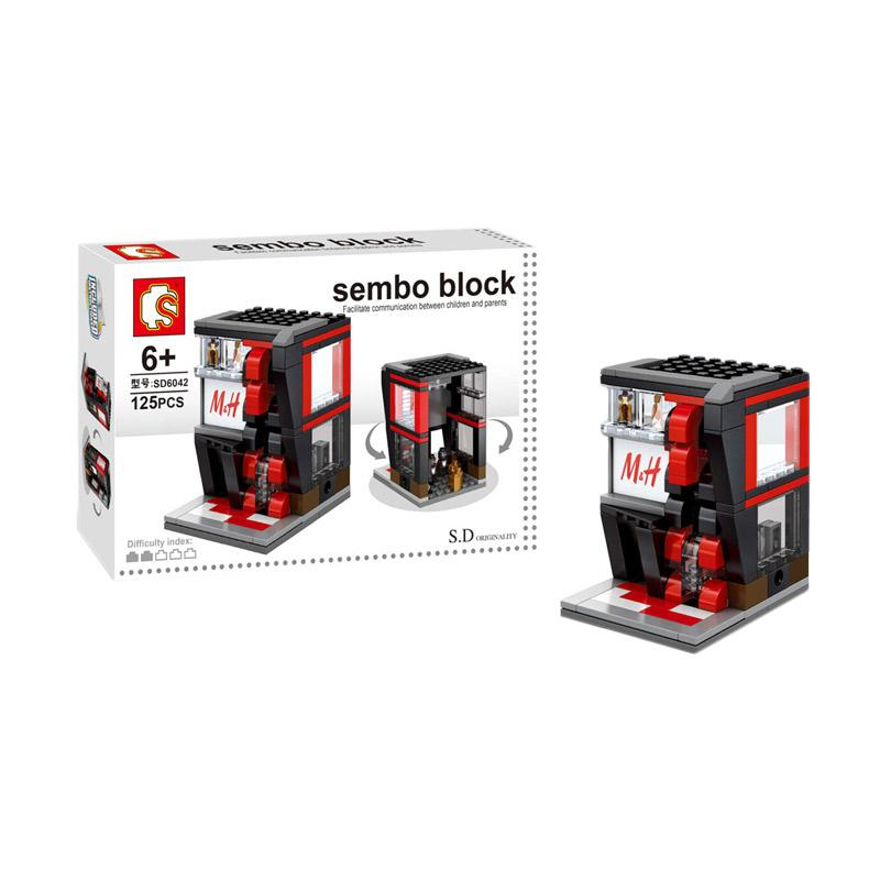 Sembo SD6042 Fashion Store Mini Blocks