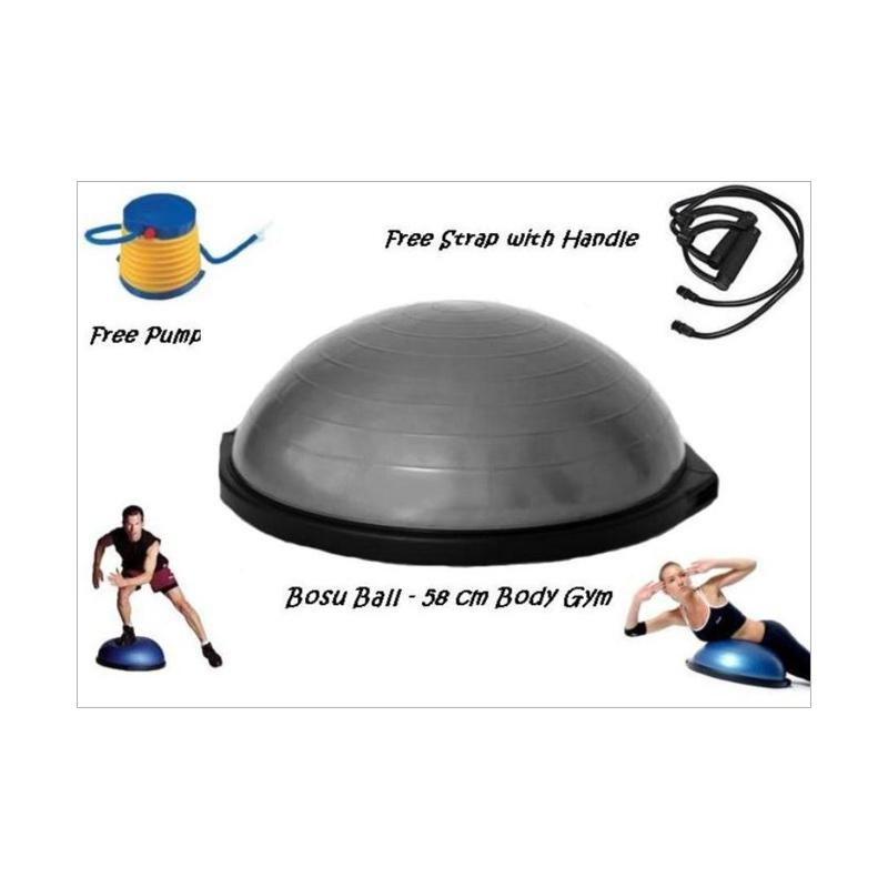 Body Gym Balance Ball - Grey