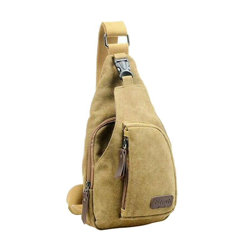 28fashion Bodypack Kanvas Tas Pria