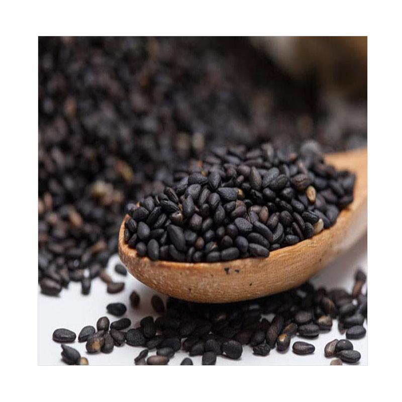 Choconola Black Sesame Seed Wijen Hitam Makanan Organic [100 g]