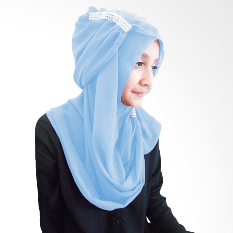 Milyarda Ring Hijab - Biru Muda