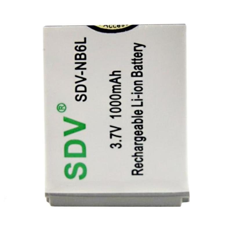 harga SDV NB6L Baterai Kamera for Canon [1000 mAh] Blibli.com