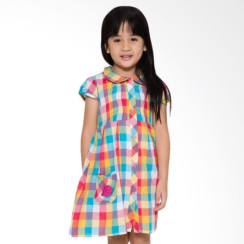 4 You Choir Collar Dress Anak - Kuning
