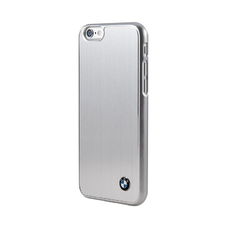 BMW Brushed Casing for iPhone 6 Plus - Silver