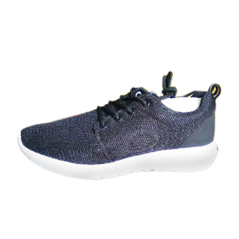 Capwave Ditra Man Sepatu Lari - Black