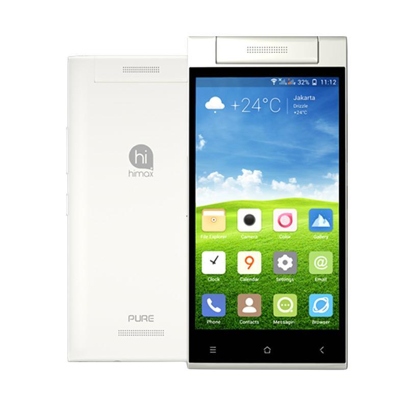Himax Pure 3 Smartphone - Putih [16GB/ 1GB]
