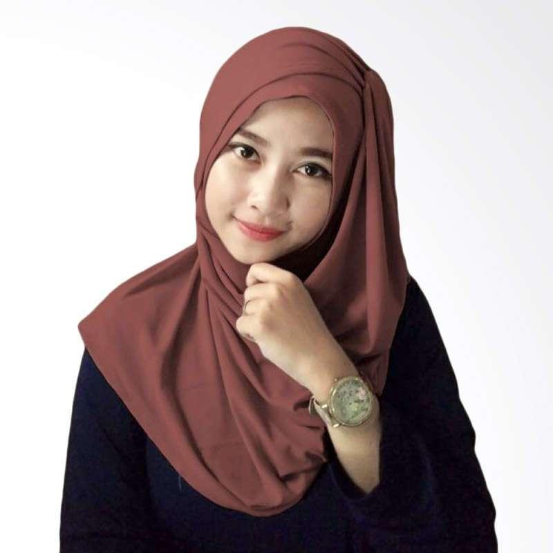 Kus Group Alesya Hijab - Coklat