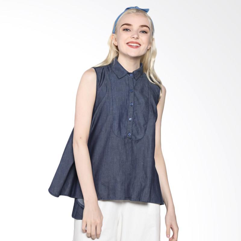 Rodeo 817.0442.BLU Shirt Denim Blouse - Blue