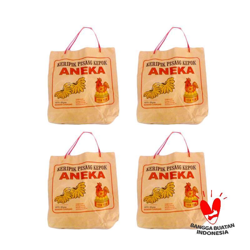Jual Aneka Yenyen Keripik Pisang Kepok Cokelat [225 g/4 pack] Online - Harga & Kualitas Terjamin | Blibli.com