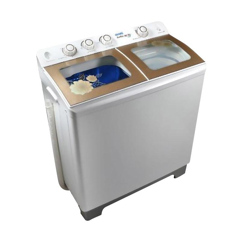 harga Akari AWM12SK Semi Auto Washer Mesin Cuci - Putih Blibli.com