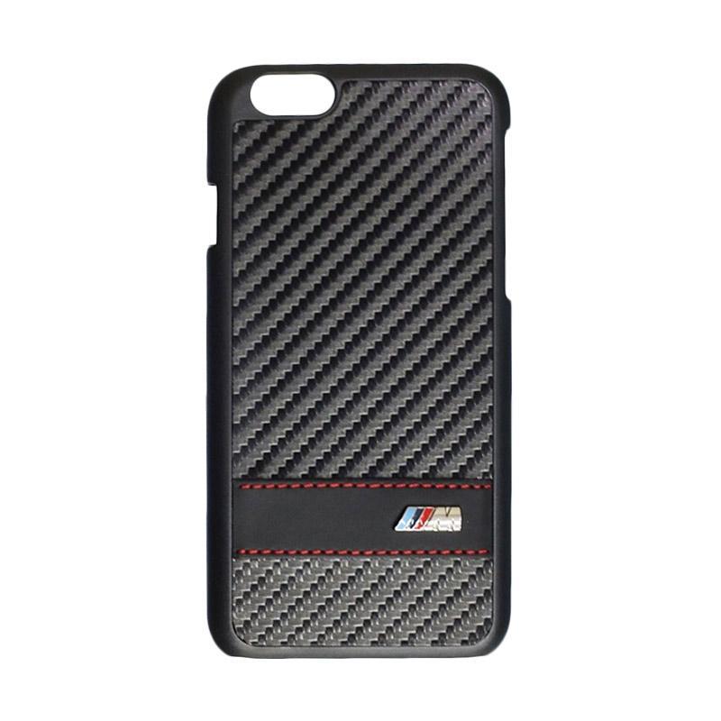 BMW Carbon Effect Casing for iPhone 6 Plus - Black