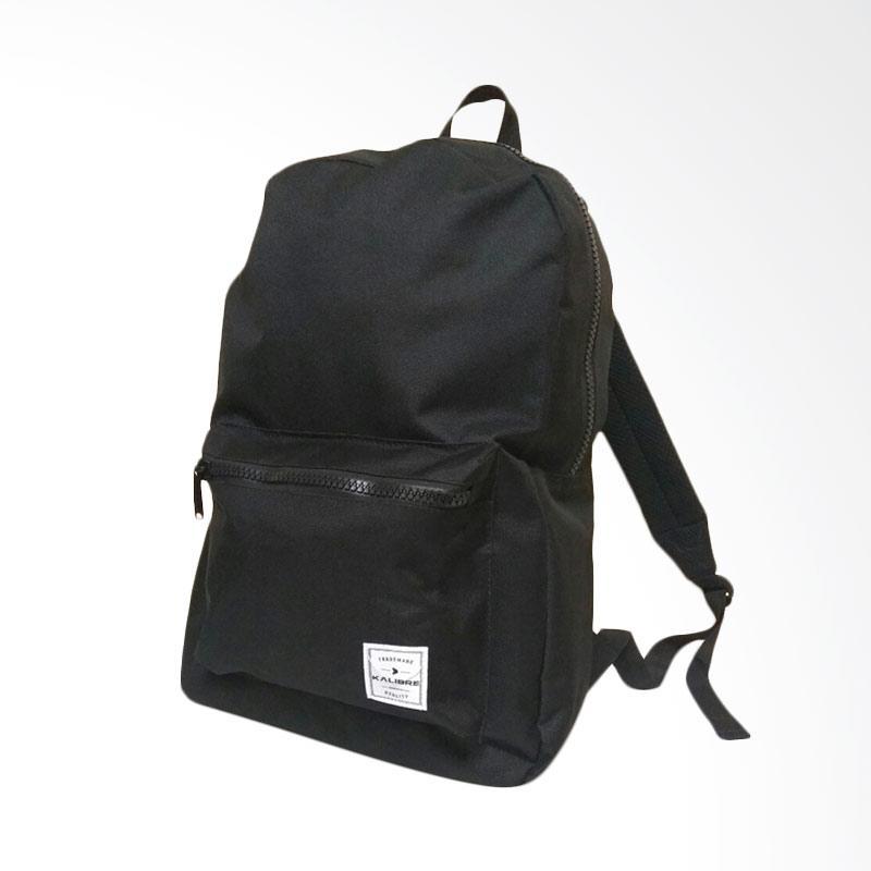 harga Kalibre Trademark Tas Ransel - Black [02 910510] Blibli.com