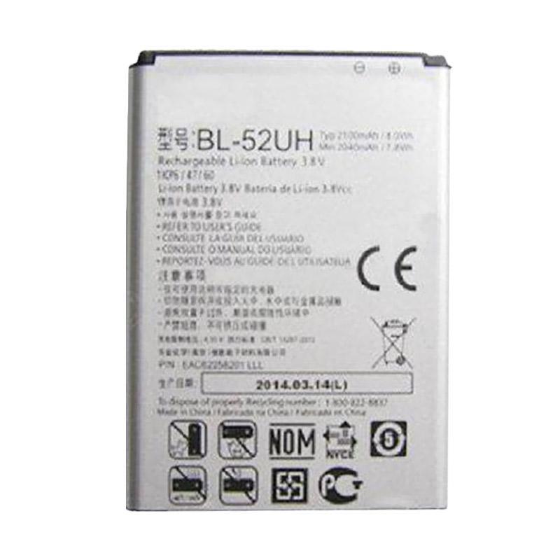 LG Baterai BL-52UH Original Battery for LG L70 D320N [2040 mAh]