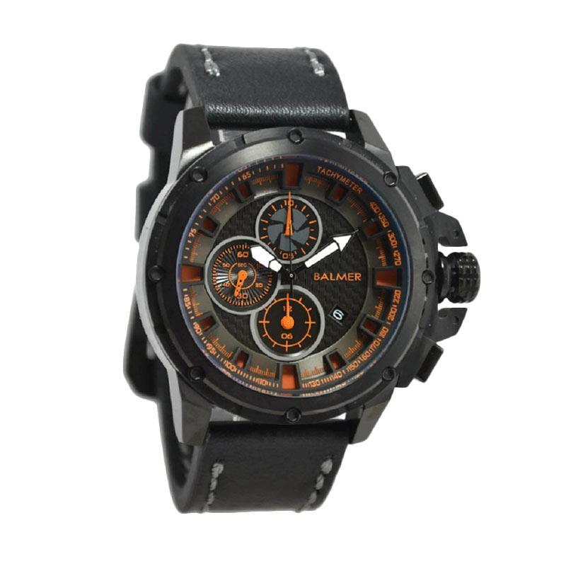 Balmer B.7905MB Jam Tangan Pria - Black Orange