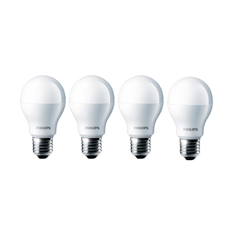 harga PHILIPS/Philip Bohlam Lampu LED - Putih [7 W / 7 Watt / 7W / 7Watt - 4 pcs] Blibli.com