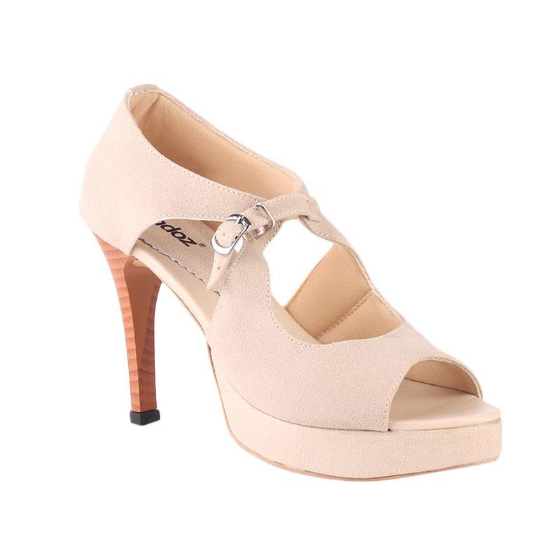 Raindoz Heels Azora RDO 402 Sepatu Wanita - Cream