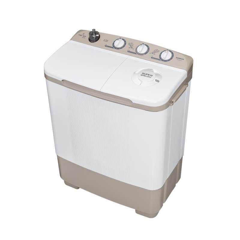 Sanken TW 8600 CF Mesin Cuci 2 Tabung 7Kg