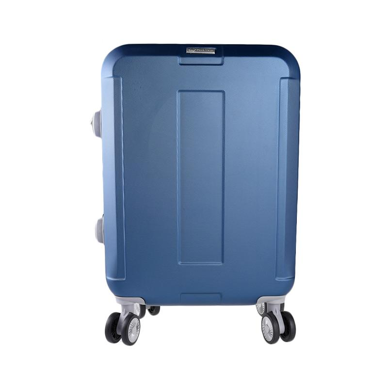 Polo Twin 705 Expandable Trolley Bag - Navy [20 Inch]