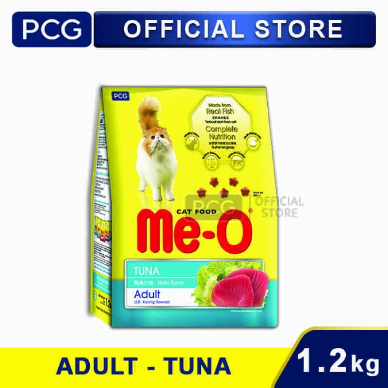 Me O Dry Cat Food Tuna Flavor 1 2 kg