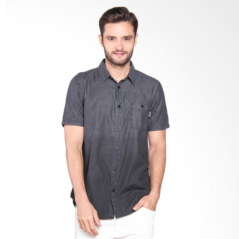 Greenlight Shirt Kemeja Pria - Black 218051711