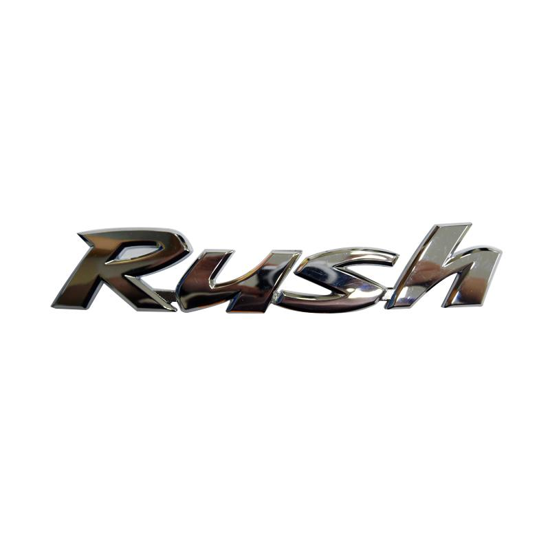 SIV EMB-121 Logo Tulisan Rush Emblem