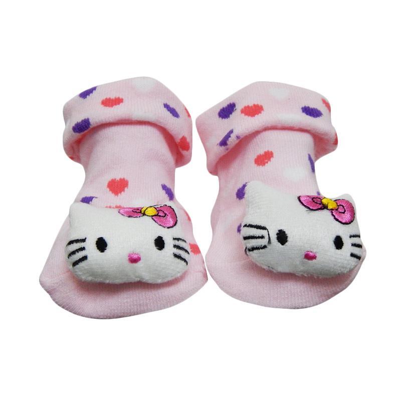 harga Wonderland Baby Sock Boneka Rattle Kaos Kaki Bayi - Hello Kitty Blibli.com