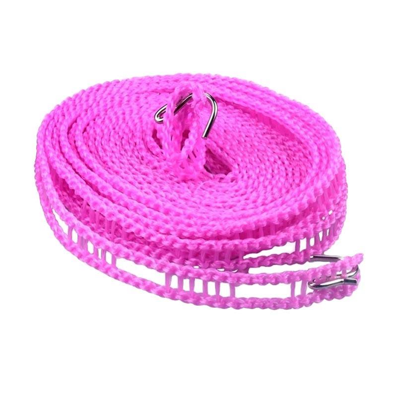 Solidexshop Tali Jemuran Serbaguna - Pink [3 m]