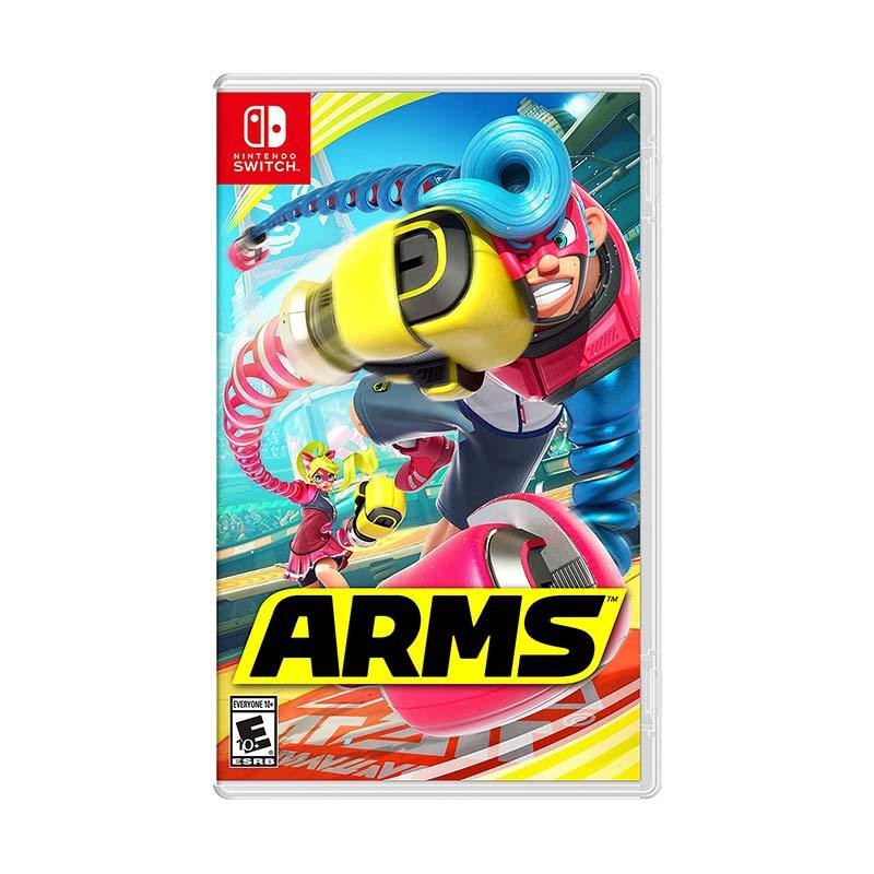Nintendo Switch Arms DVD Game