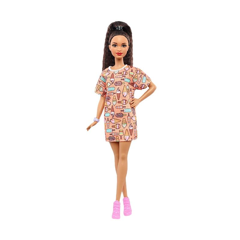 harga Mattel Barbie Fashionistas #56 Style So Sweet Petite Doll Mainan Anak Blibli.com