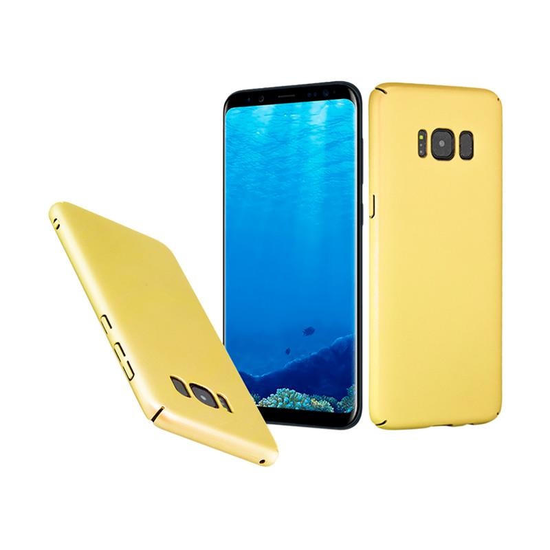 Baby Skin Hardcase Casing for Samsung S8 Plus - Gold
