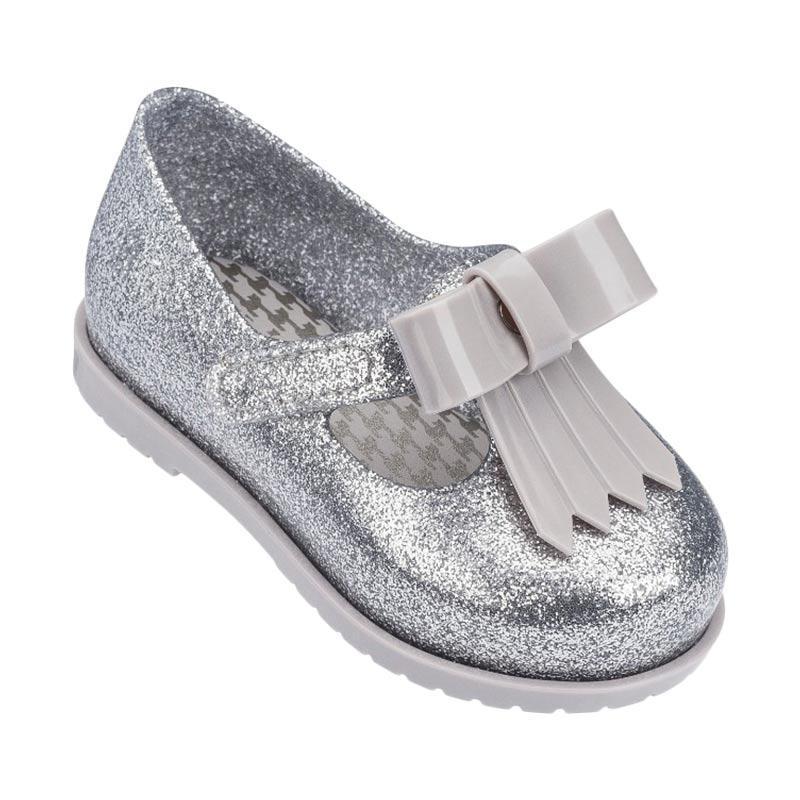 harga Mini Melissa Classic Baby II Bb Sepatu Anak Perempuan - Glass Glitter Silver Blibli.com