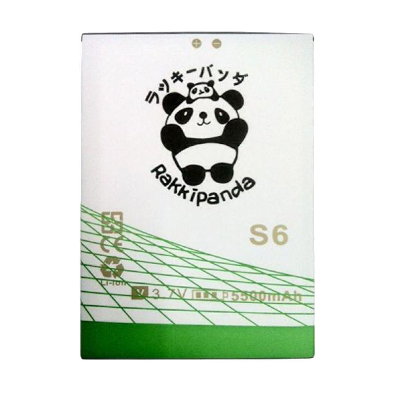 RAKKIPANDA Battery for Advan S6 Double Power Double IC Baterai [5500 mAh]