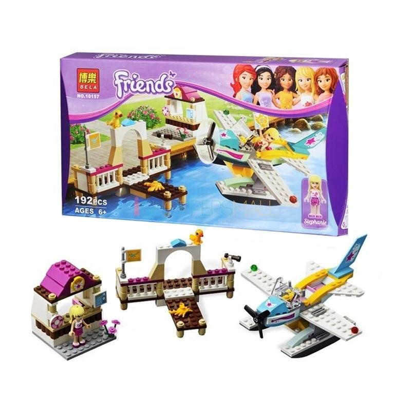 Bela Friends Aeroplane Edition Exclusive Mainan Block dan Puzzle