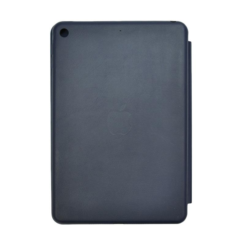 SMILE Smart Standing Cover Casing for Apple New iPad 9.7 Inch 2017 Auto Lock - Navy Blue