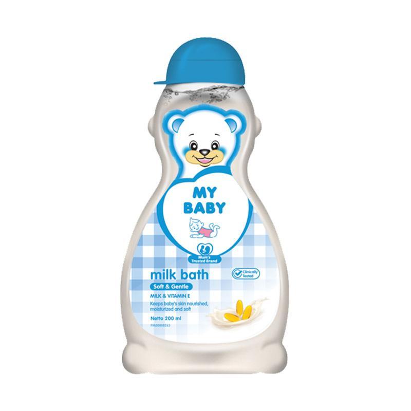 My Baby Milk Bath Soft & Gentle Sabun Bayi [200 mL]