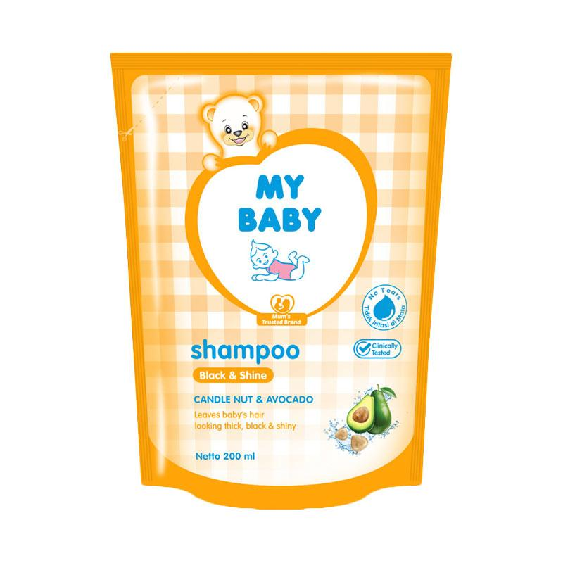 My Baby Refill Shampoo - Black & Shine [200 mL]