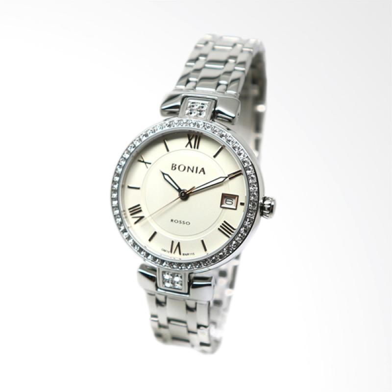 Bonia BNR115-2313S Jam Tangan Wanita - Silver White