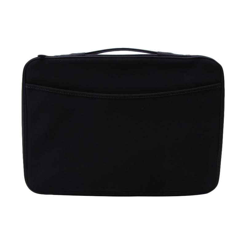 Cooltech Softcase Neoprene Handstrap Tas Laptop 15 Inch - Black