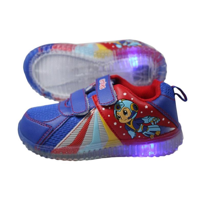 harga Ardiles Sepatu Anak Lampu Eboy - Blue Red Blibli.com