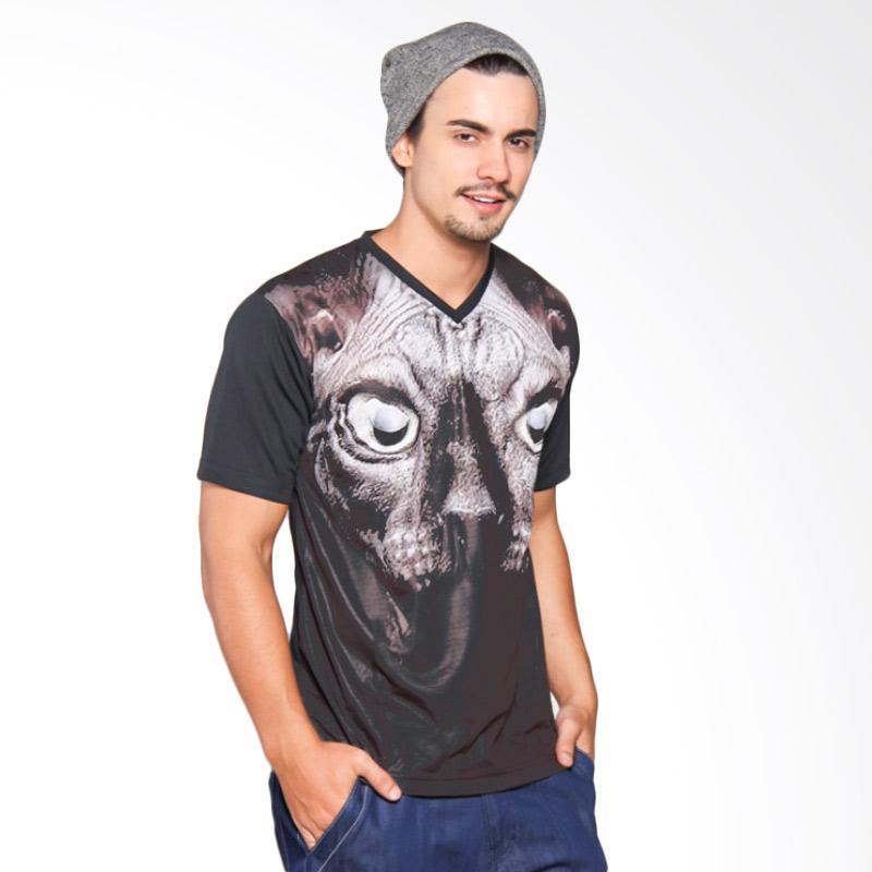 EpicMomo Cat4 T-Shirt - Black AD.00129