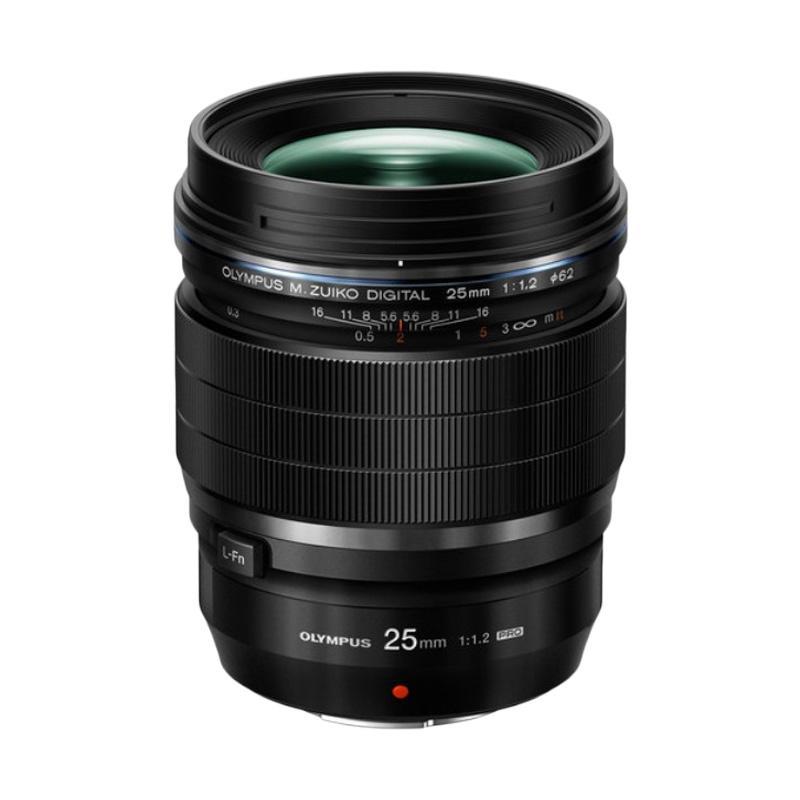 Olympus ED M 25 f/1.2 Pro Lensa Kamera - Black