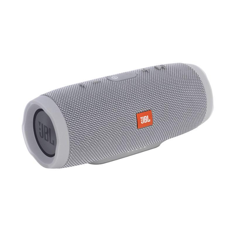 JBL Charge 3 Waterproof Portable Bluetooth Speaker - Gray