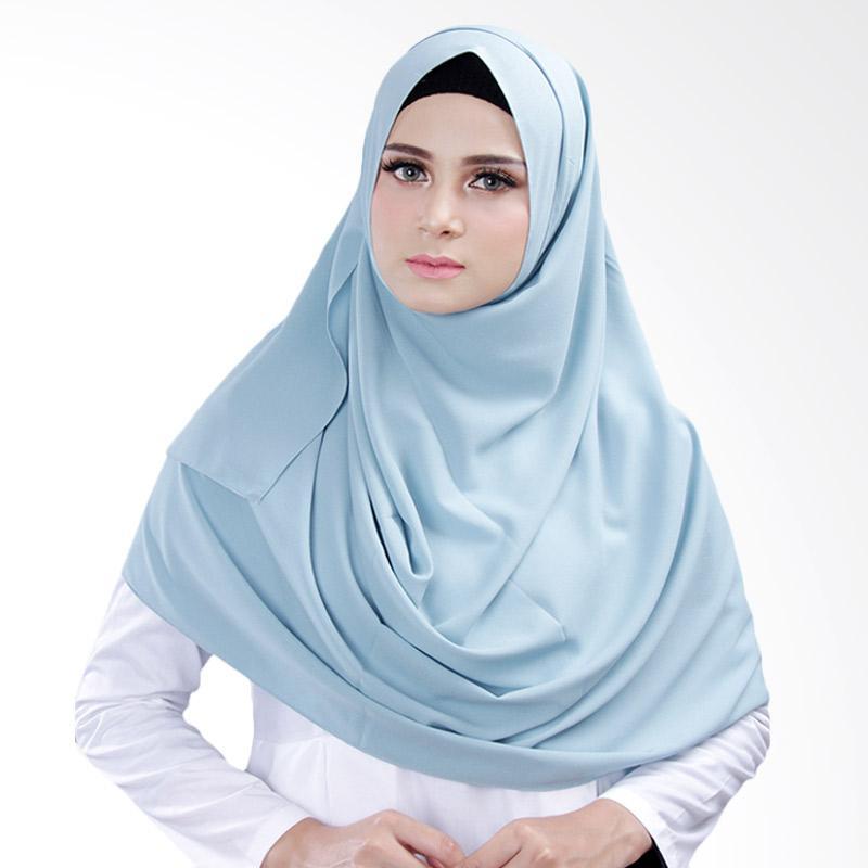 Cantik Kerudung Bella 2 Face Hijab Instant - Salted Egg No.4
