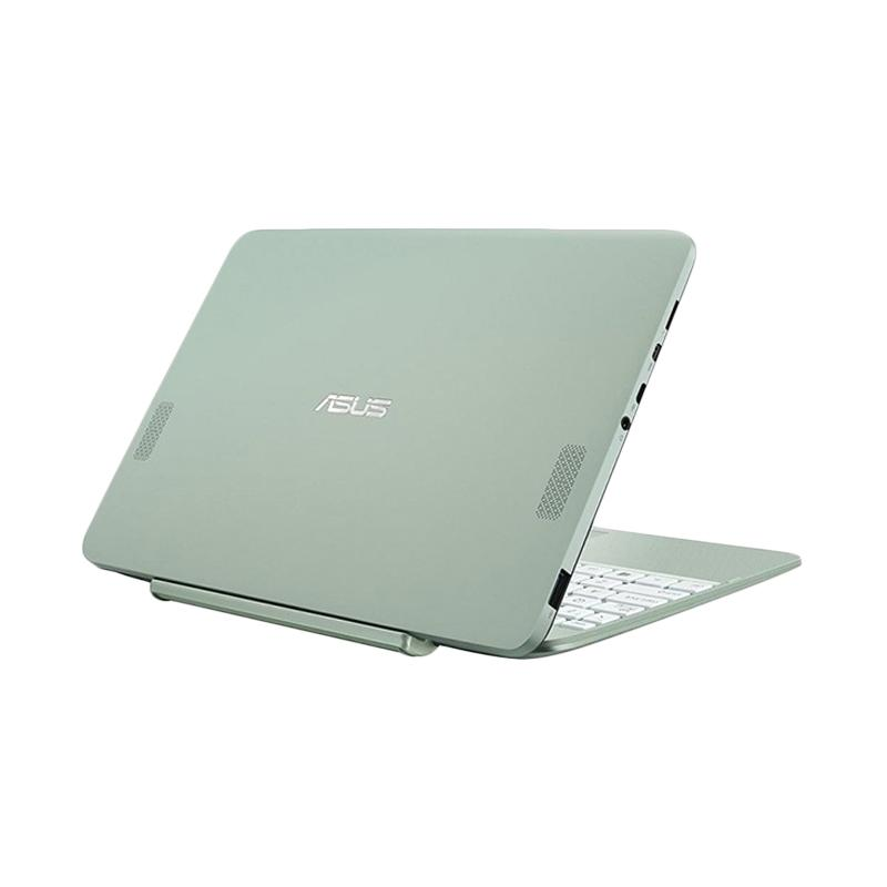 Asus Transformer T101HA 2in1 Notebook - Mint Green [Z8350/ 2GB/ 128eMMC/ 10 Inch/ Windows 10/ Touch Screen]