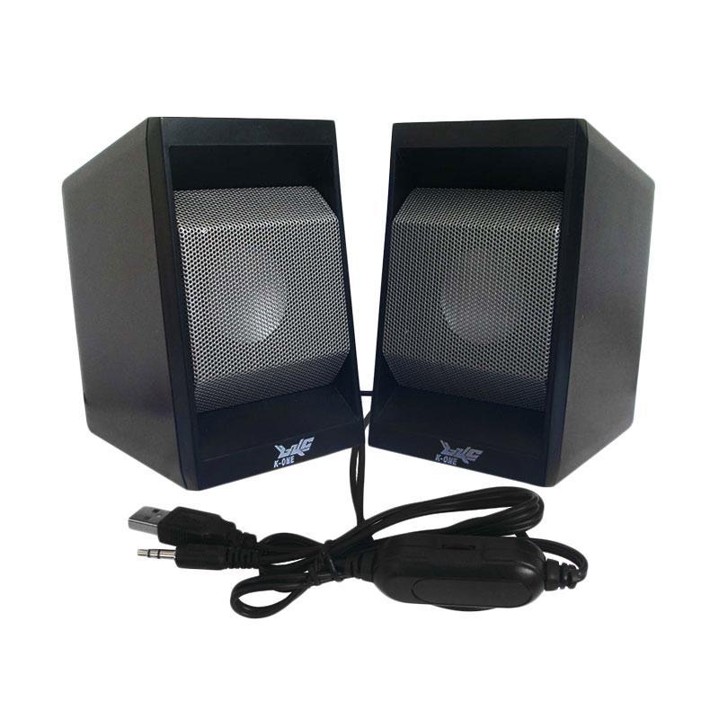 K-One D18 Multimedia Speaker USB with Volume Control - Abu