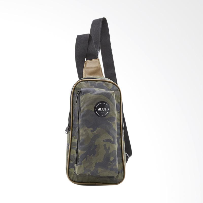 harga Alius Garner Bag Tas Selempang - Green Army T3507G2 Blibli.com
