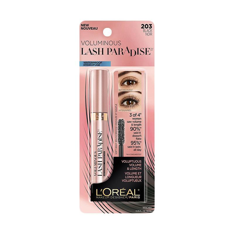 aa1b9142949 Jual L Oreal Paris Cosmetics Voluminous Lash Paradise Washable Mascara -  Black Online - Harga   Kualitas Terjamin