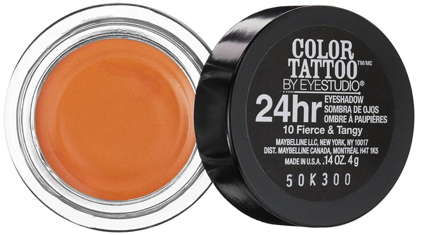 Maybelline 24 Hour Eyeshadow Fierce and Tangy