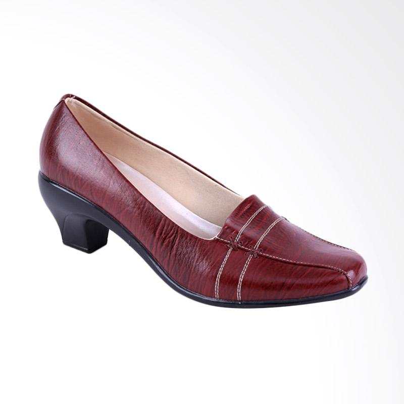 Garucci GLN 4234 Formal Shoes - Maroon
